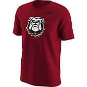 Nike Men's Georgia Bulldogs Red Alt Logo Football T-Shirt