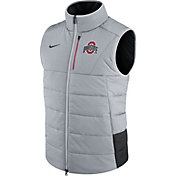 Nike Men's Ohio State Buckeyes Football Sideline Gray/Black Vest