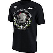 Nike Men's Ohio State Buckeyes 2017 Goodyear Cotton Bowl Classic Bound Illustrated Helmet T-Shirt