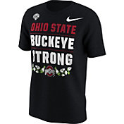 Nike Men's Ohio State Buckeyes 2017 Goodyear Cotton Bowl Classic Bound Verbiage T-Shirt