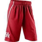 Nike Men's Houston Cougars Red Fly XL 5.0 Football Sideline Shorts
