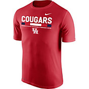 Nike Men's Houston Cougars Red Football Staff Legend T-Shirt