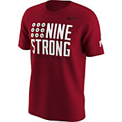 Nike Men's Ohio State Buckeyes Scarlet 'Nine Strong' Fan T-Shirt
