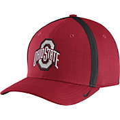 Nike Men's Ohio State Buckeyes Scarlet AeroBill Football Sideline Coaches Classic99 Hat