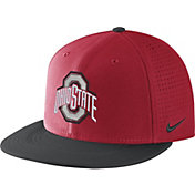 Nike Men's Ohio State Buckeyes Scarlet/Black AeroBill True Performance Hat