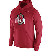 Nike Men's Ohio State Buckeyes Scarlet Club Fleece Hoodie