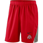 Nike Men's Ohio State Buckeyes Scarlet Franchise Shorts