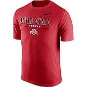 Nike Men's Ohio State Buckeyes Scarlet Hockey Legend T-Shirt