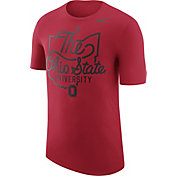 Nike Men's Ohio State Buckeyes Scarlet 'The Ohio State University' Local Elements T-Shirt