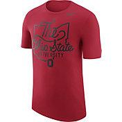 Nike Men's Ohio State Buckeyes Scarlet 'The Ohio State University' Local Elements T-Shirt