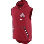 Nike Men's Ohio State Buckeyes Scarlet Alpha Fly Football Flex Vest
