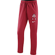 Nike Men's Ohio State Buckeyes Scarlet Sideline Therma-FIT Pants