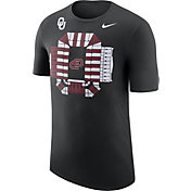 Nike Men's Oklahoma Sooners Local Imagery Football Stadium Black T-Shirt