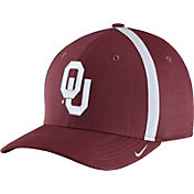 Nike Men's Oklahoma Sooners Crimson AeroBill Football Sideline Coaches Classic99 Hat
