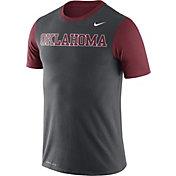 Nike Men's Oklahoma Sooners Anthracite/Crimson Championship Drive Dri-Blend T-Shirt