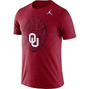 Jordan Men's Oklahoma Sooners Crimson Dri-FIT Football Icon T-Shirt