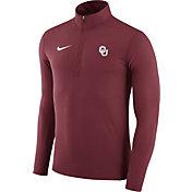 Nike Men's Oklahoma Sooners Crimson Element Performance Quarter-Zip