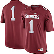 Nike Men's Oklahoma Sooners #1 Crimson Limited Football Jersey