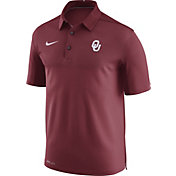 Nike Men's Oklahoma Sooners Crimson Elite Football Sideline Polo