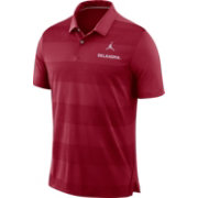 Jordan Men's Oklahoma Sooners Crimson Early Season Football Polo