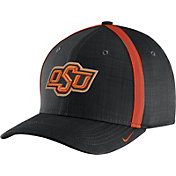 Nike Men's Oklahoma State Cowboys Black AeroBill Football Sideline Coaches Classic99 Hat