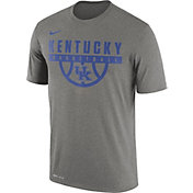 Nike Men's Kentucky Wildcats Grey ELITE Basketball Legend T-Shirt