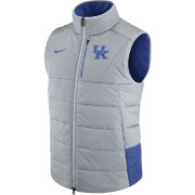Nike Men's Kentucky Wildcats Grey/Blue Football Sideline Vest