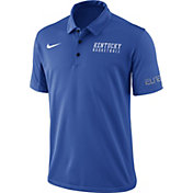 Nike Men's Blue Kentucky Wildcats Basketball Polo