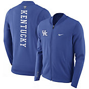 Nike Men's Kentucky Wildcats Blue Showtime Basketball Full-Zip Jacket