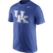 Nike Men's Kentucky Wildcats Blue Logo T-Shirt