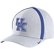 Nike Men's Kentucky Wildcats White AeroBill Football Sideline Coaches Classic99 Hat