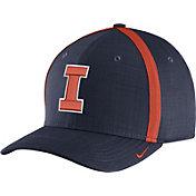Nike Men's Illinois Fighting Illini Blue AeroBill Football Sideline Coaches Classic99 Hat