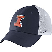 Nike Men's Illinois Fighting Illini Blue/White Heritage86 Performance Trucker Hat