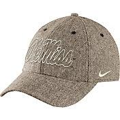 Nike Men's Ole Miss Rebels Khaki Seasonal Heritage86 Tweed Hat