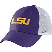 Nike Men's LSU Tigers Purple/White Heritage86 Performance Trucker Hat