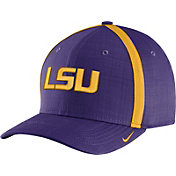 Nike Men's LSU Tigers Purple AeroBill Football Sideline Coaches Classic99 Hat