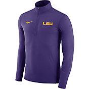 Nike Men's LSU Tigers Purple Element Performance Quarter-Zip