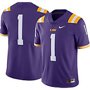 Nike Men's LSU Tigers #1 Purple Limited Football Jersey