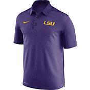 Nike Men's LSU Tigers Purple Elite Football Sideline Polo