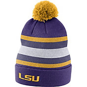 Nike Men's LSU Tigers Purple Football Sideline Beanie