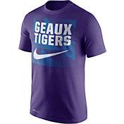 Nike Men's LSU Tigers Purple Dri-FIT Legend Franchise T-Shirt