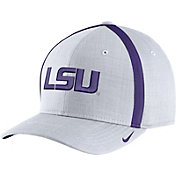 Nike Men's LSU Tigers White AeroBill Football Sideline Coaches Classic99 Hat