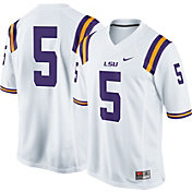 Nike Men's LSU Tigers #5 Game Football Jersey