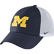 Nike Men's Michigan Wolverines Blue/White Heritage86 Performance Trucker Hat