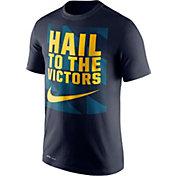 Nike Men's Michigan Wolverines Blue Dri-FIT Legend Franchise T-Shirt