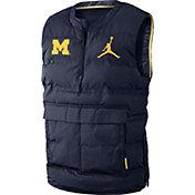 Jordan Men's Michigan Wolverines Navy Aeroshield Vest