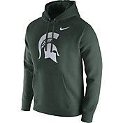 Nike Men's Michigan State Spartans Green Club Fleece Hoodie