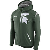 Nike Men's Michigan State Spartans Green Fly Rush Football Jacket