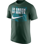 Nike Men's Michigan State Spartans Green Dri-FIT Legend Franchise T-Shirt