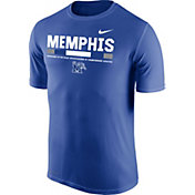 Nike Men's Memphis Tigers Blue Football Staff Legend T-Shirt